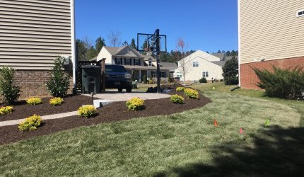 Henrico, Virginia Landscape Installation
